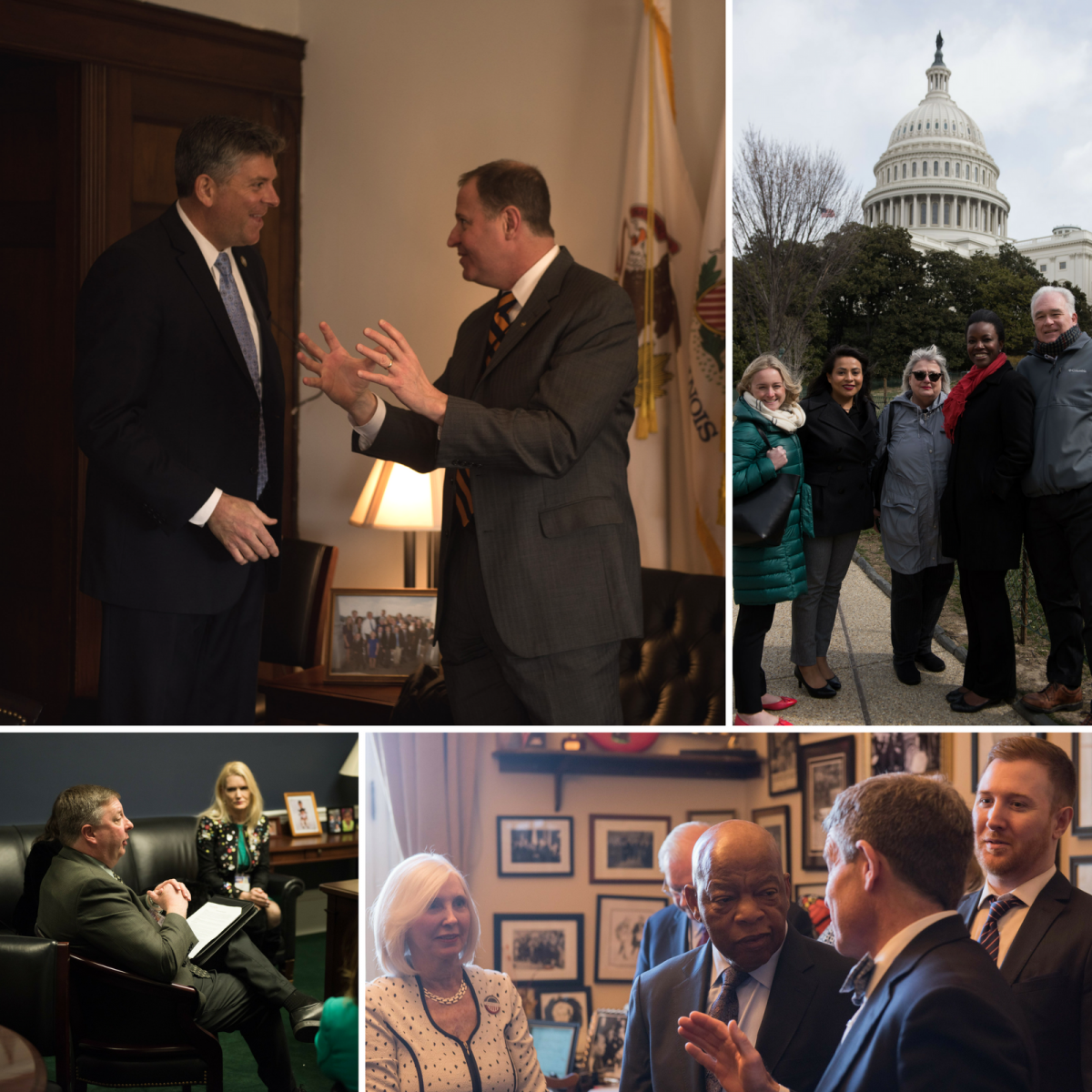 Images from Foundations on the Hill 2018